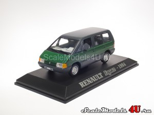 Scale model of Renault Espace I (1984) produced by Universal Hobbies.