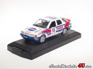 Scale model of Ford Sierra Tour de Course #16 Tamoil (1991) produced by Vitesse.